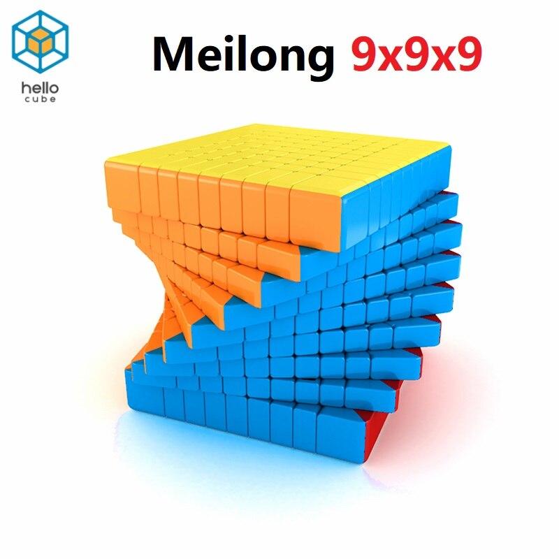 HelloCube MoYu MF9 Magic Cube Meilong 9x9x9 Cube Magic 9 Layers Shape 9x9 Speed Puzzle Cubo Educational Toys Kid Game